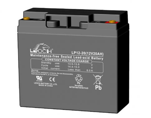 Rechargeable Lead Acid UPS Battery 12V/20AH - Leoch