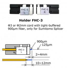 Φ3 or Φ2mm cord Holder, only for Sumitomo Splicer