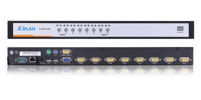8 port USB & PS2 IP KVM Switchwith all accessories