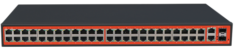 48FE+2 Gigabit Combo SFP Ports Unmanaged Fiber Switch