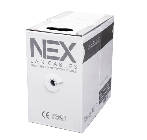 Ethernet Cables - Cat5e UTP 20% Cuprum, Indoor, 305 Metre