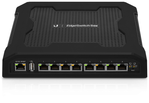 8 Port PoE TOUGH Switch 24/48v