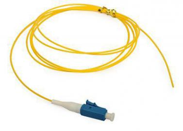 Pigtail LC/UPC-G657A1 0.9mm 1m PVC Yellow