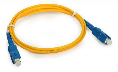 ოპტიკურ პაჩკორდი - SC/UPC-SC/UPC Single-mode Simplex Patchcord 3mm 1m