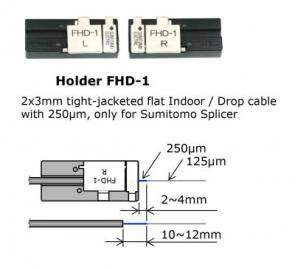 Drop 2x3mm cable Holder or Sumitomo Splicer